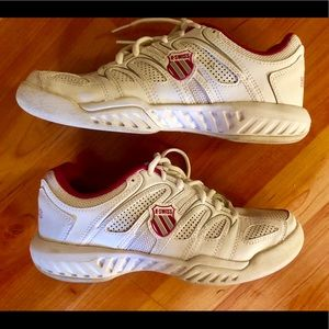 🌸K Swiss Leather Sneakers Tennis Shoes 🌸 for sale